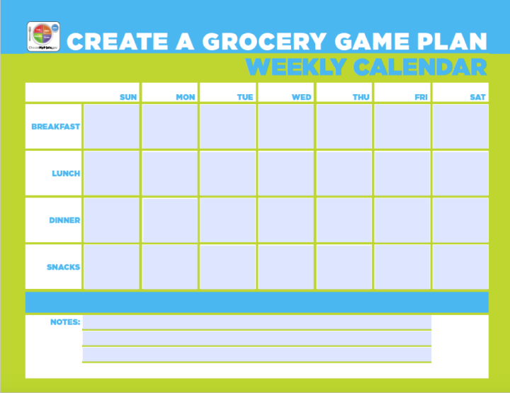 grocery game plan